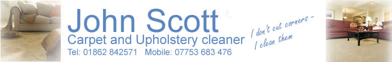 John Scott - Carpet and Upholstery Cleaner